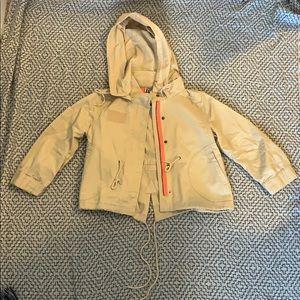 Roxy Tan 3/4 Khaki Jacket Size S